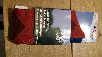 Sokken HH ruit red 31-35