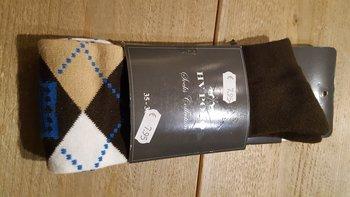 Sokken HV polo bruin 35-38