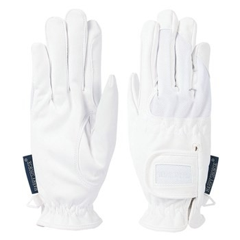 Domy Suede Mesh Gloves, Harry's Horse wit