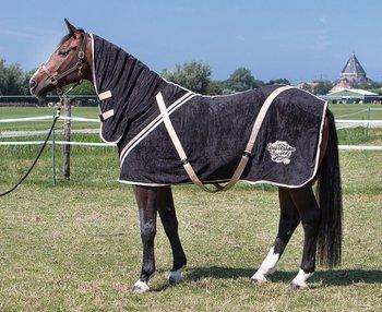 Harry's Horse fleecedeken stretch Limo met hals OP=OP
