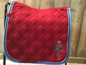 HV polo  dekje full dressuur rood