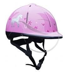RH Veiligheidshelm Rider roze